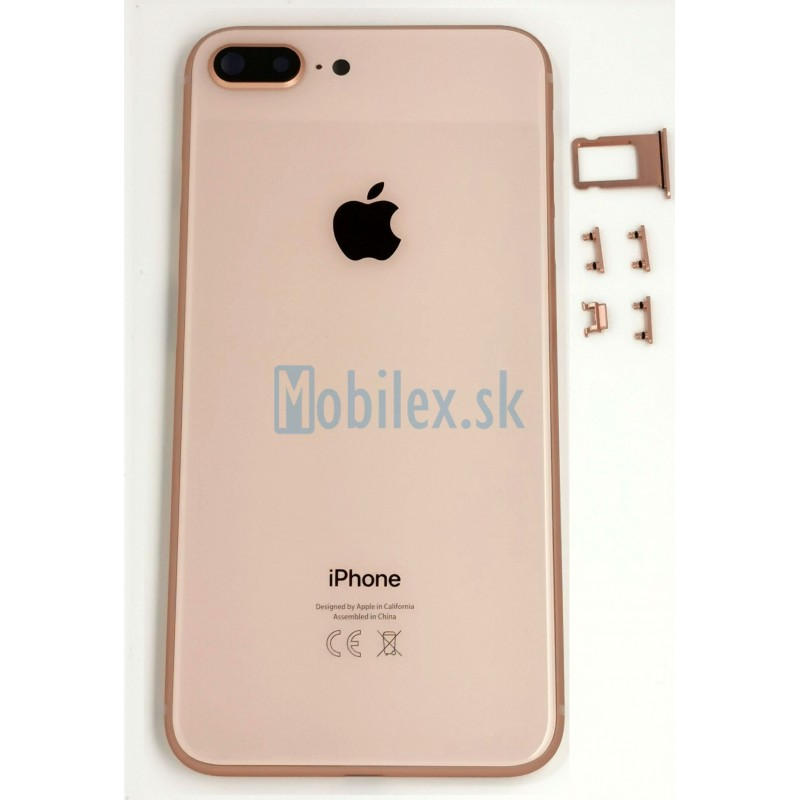 Apple iPhone 8 Plus - Zadný kryt Gold