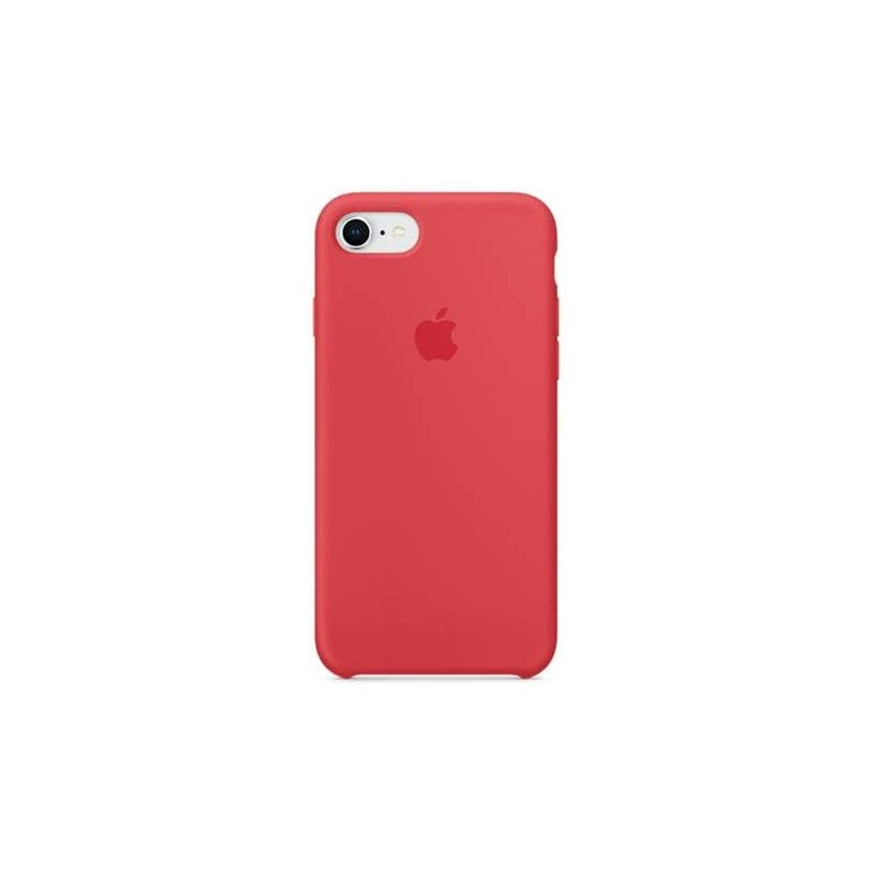 iPhone 7 / 8 Silicone Case Red raspberry