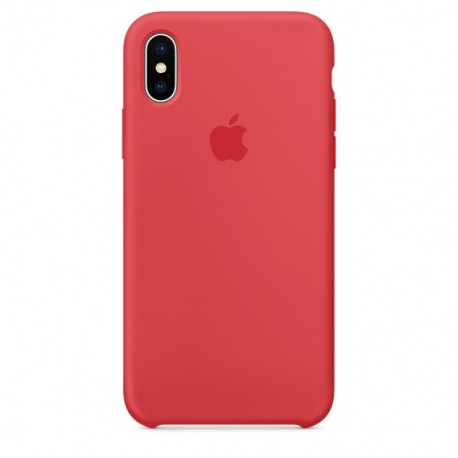 iPhone XR Silicone Case Red Raspberry