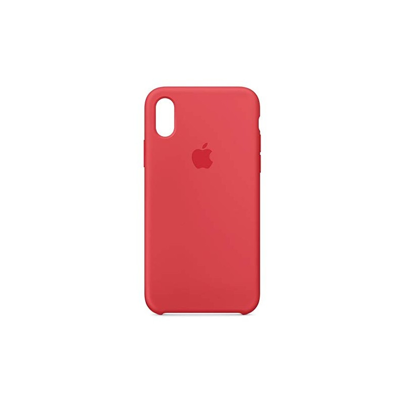 iPhone XS Max Silicone Case Red raspberry