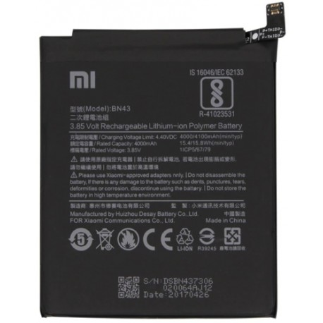 Batéria Xiaomi Redmi Note 4 Global, Note 4X - BN43 4000 mAh